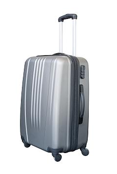 harde koffer met vier wielen