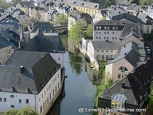 Oude centrum van  Luxemburg