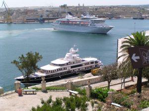 Veerboten op Malta