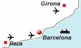De vliegvelden van Barcelona