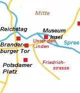 kaart van Berlijn Mitte