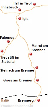 Brennerpasroute