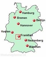 Frankfurt bij de Autobahn