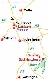 Omgeving van Hannover