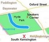 plattegrond van Londen
