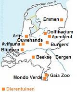Dierentuinen in Nederland