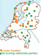 Hostels in Nederland