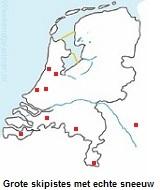 skiën in Nederland