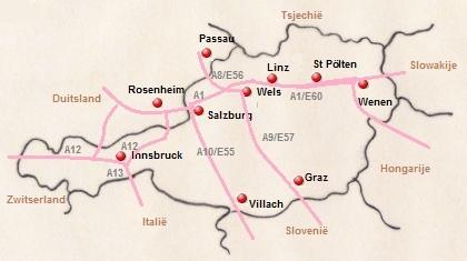 De Autobahnen Van Oostenrijk Motels En Hotels Voor Onderweg