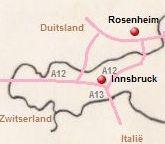 Kaart van de A12 en de A13