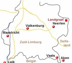 Kaart Limburg 454 Kaarten En Atlassen Nl