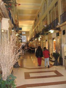 winkelen in Arcade in londen