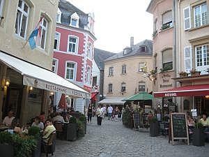 terrasjes in Echternach