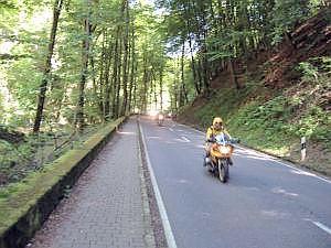 Motorrijen in Mullerthal
