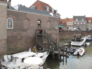 Oude haven in Heusden