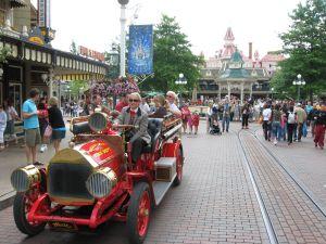 De ingang van Disneyland Parijs